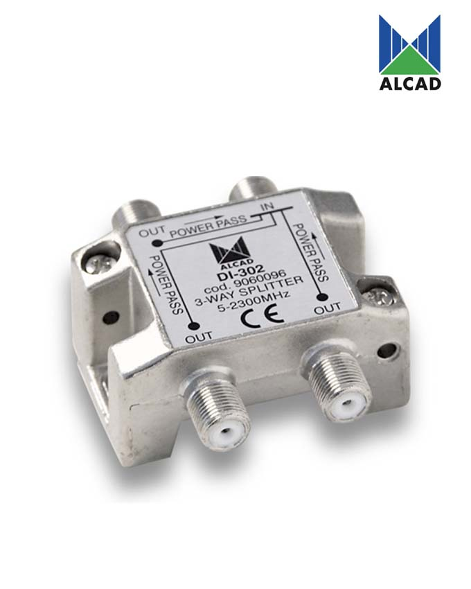 Alcad DI-302 3-Way Splitter